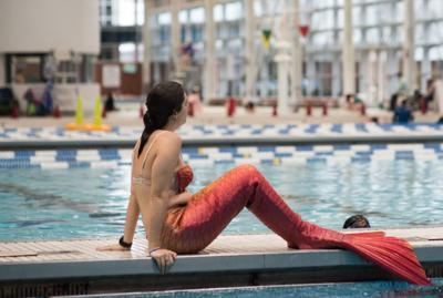 Mermaid tryout