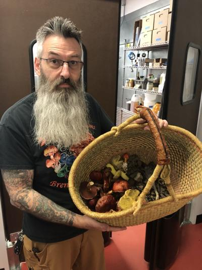 William Dunkerley, owner of Dunks Mushrooms Products & Foraging LLC