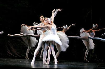 Direct from Russia, the Moscow Festival Ballet will be on hand Friday night at the Lebanon Opera House to perform 'Swan Lake.'