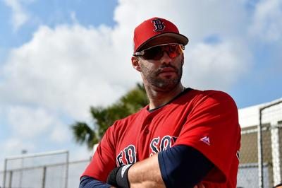 MLB: Boston Red Sox-Workouts