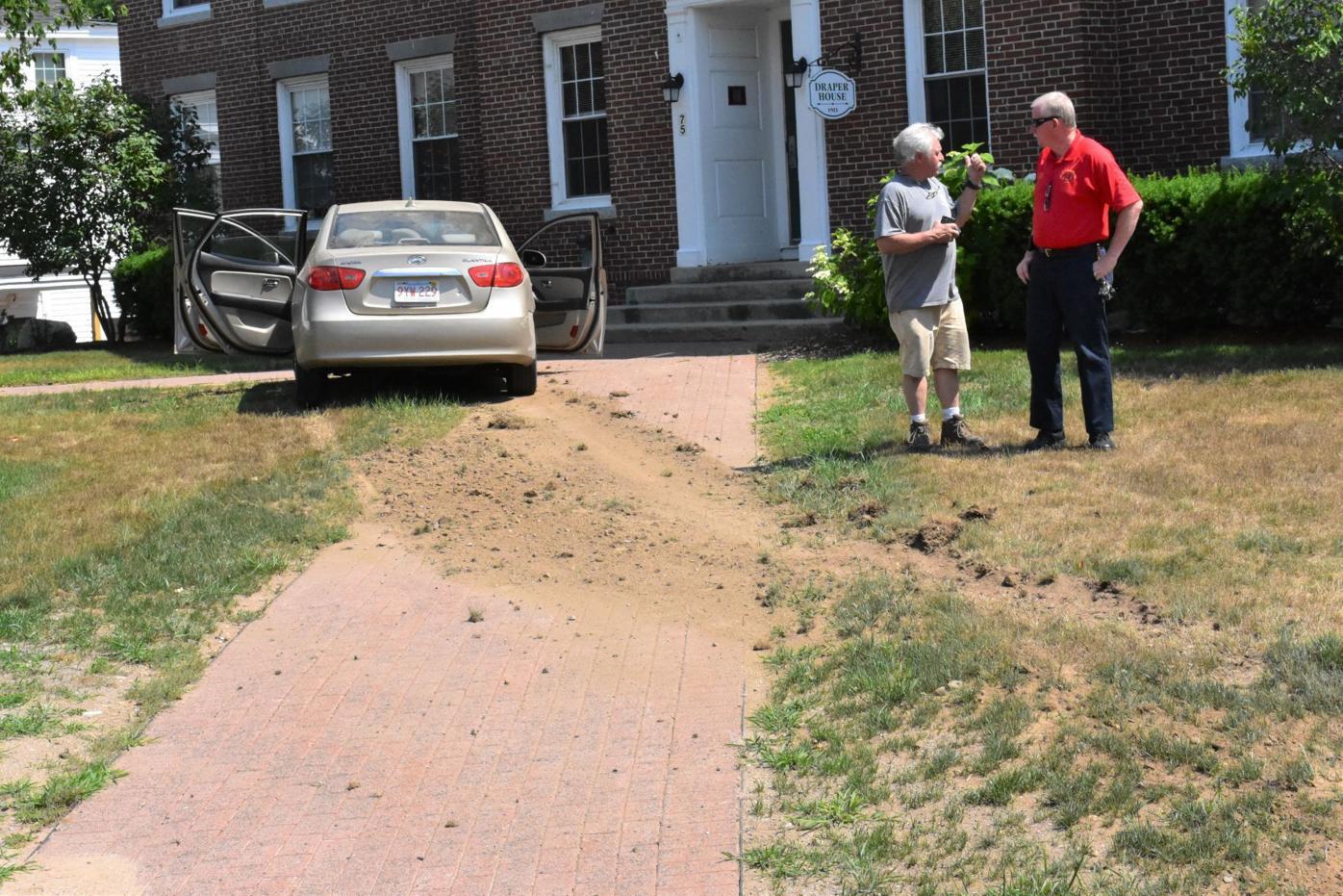 Car into New Hampton School dorm