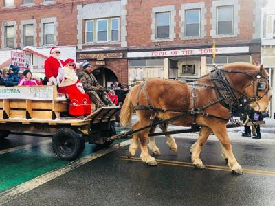Santa in Littleton
