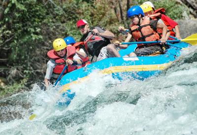 North Wood Rafting - pic1
