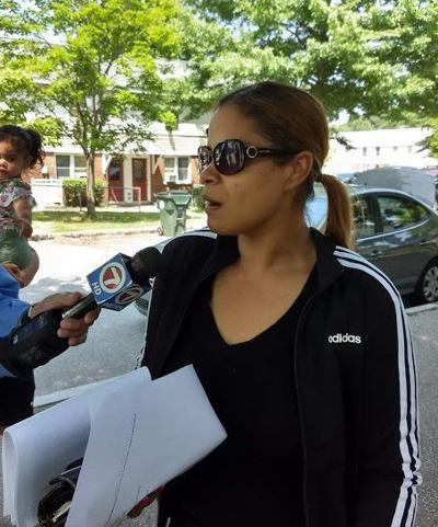 shooting victim Mariela Maria talks