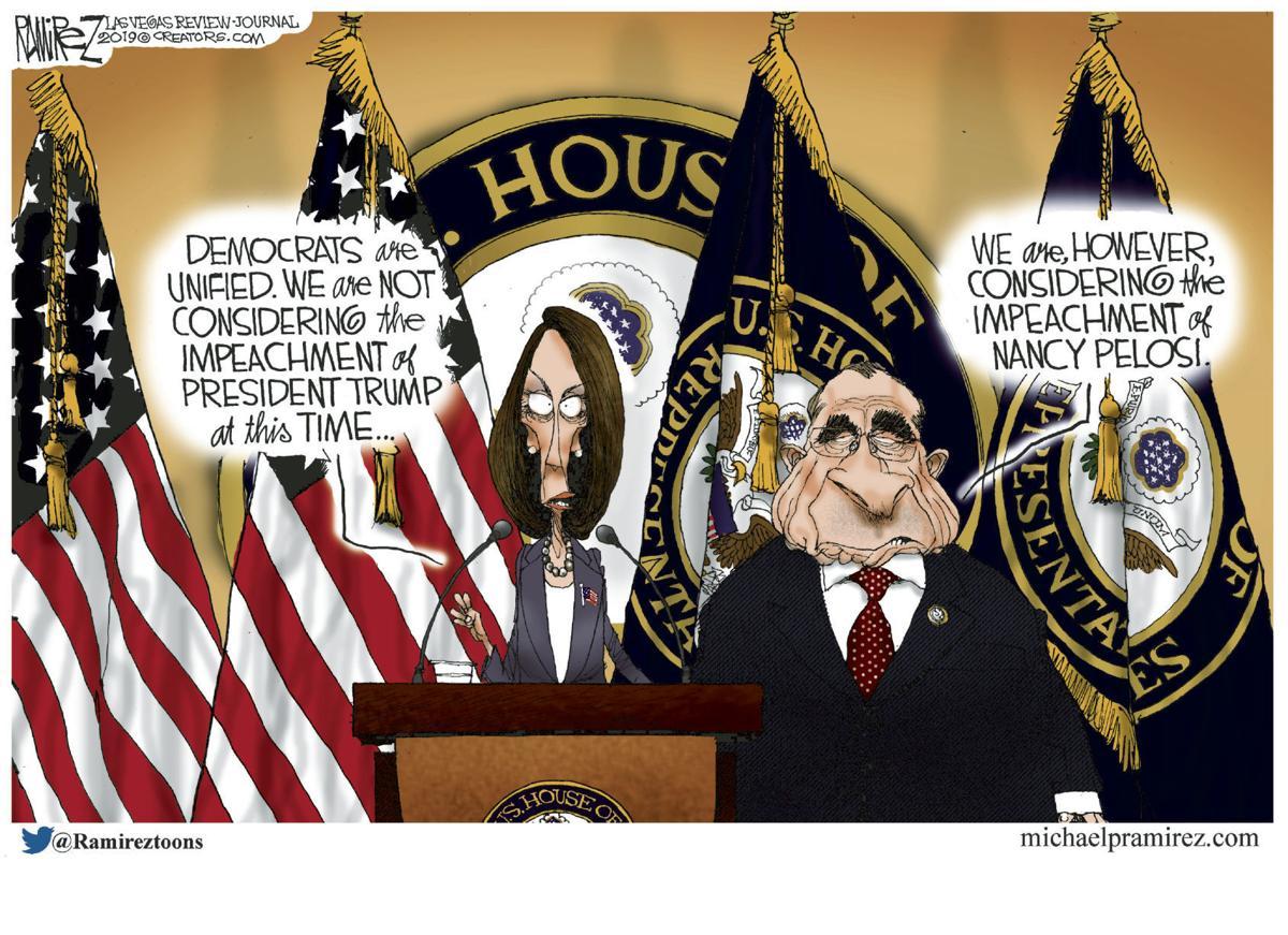 Editorial Cartoon for Sunday, June 16, 2019