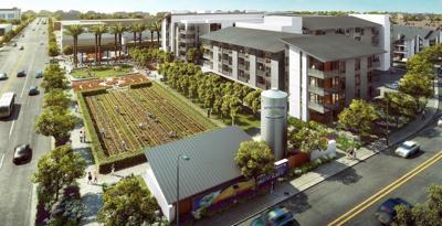 California housing farm