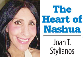 The Heart of Nashua with Joan Stylianos: I'm not totally Greek, but I'm Greek enough