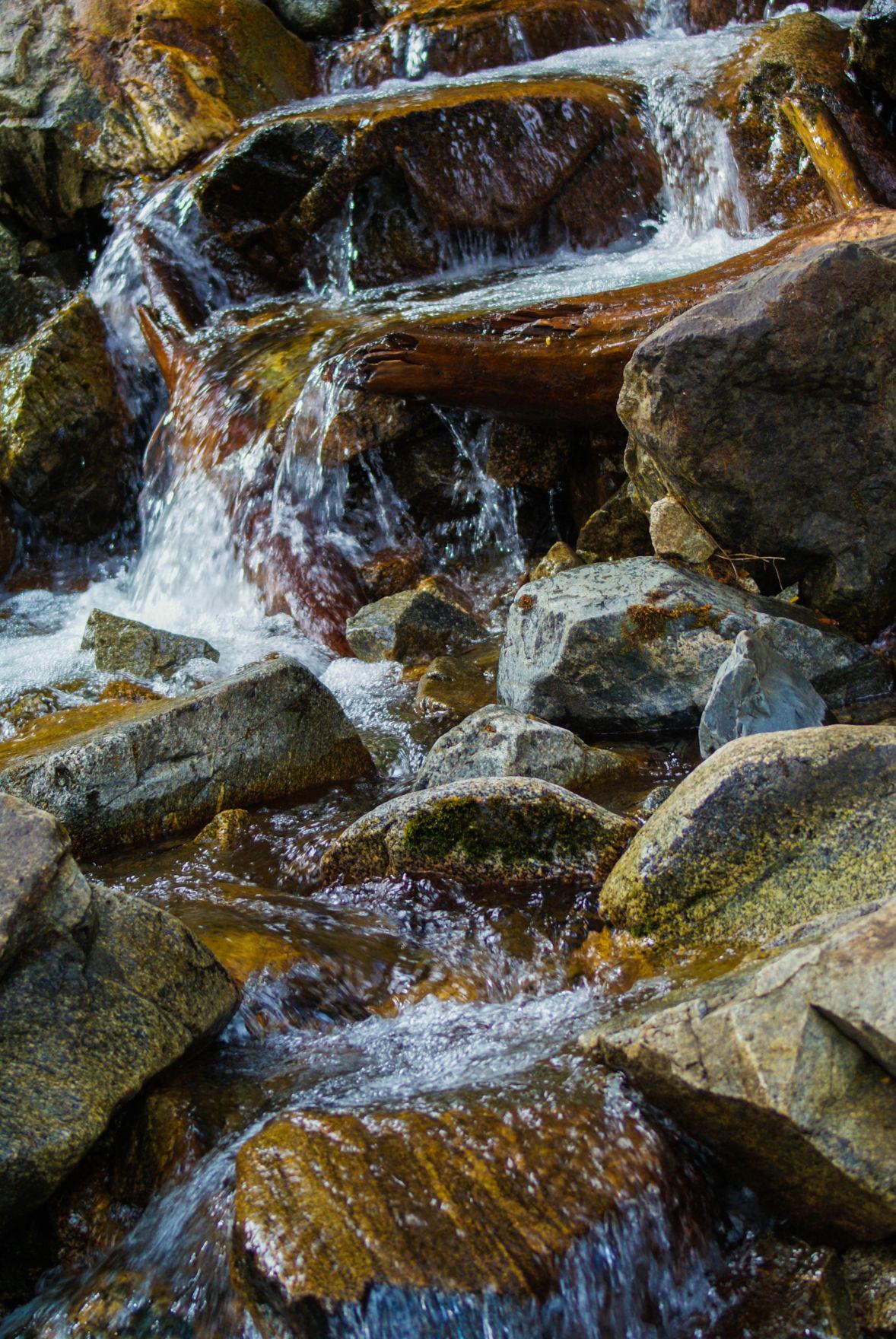 Waterfall rapelling - pic1