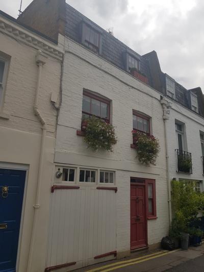 Ghislaine Maxwell's London home