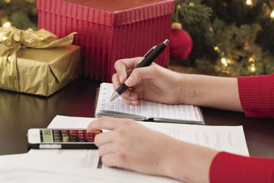 Holidays' financial stress
