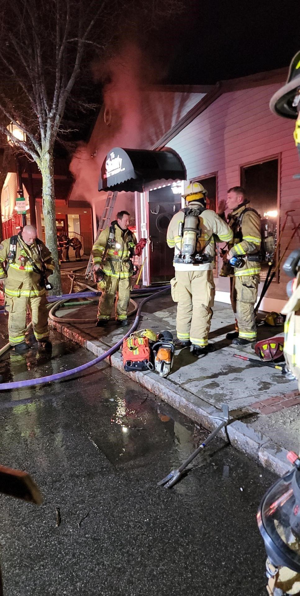 Shanty Tavern fire