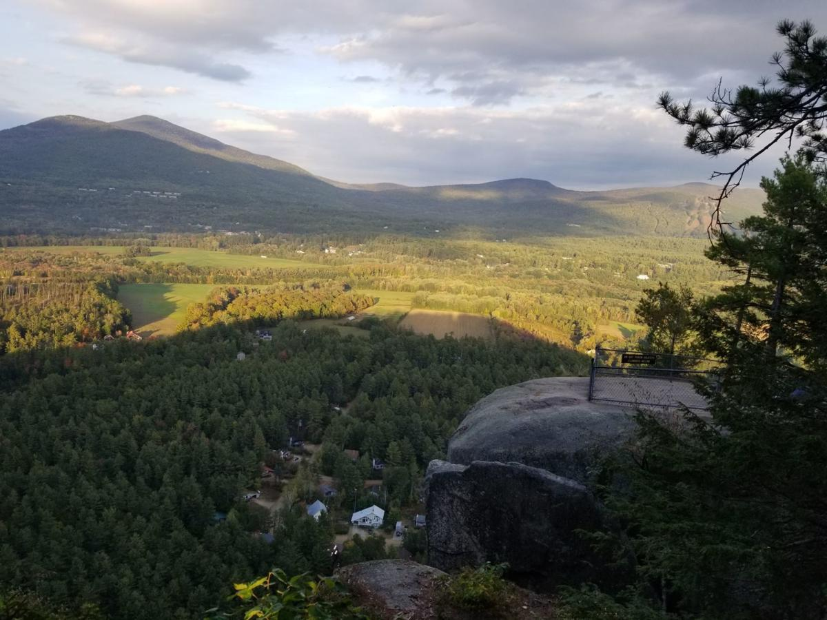The view from Cathedral Ledge