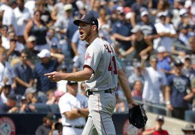 MLB: Game One-Boston Red Sox at New York Yankees