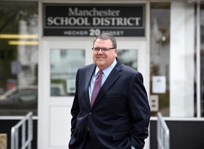 Manchester's Superintendent of Schools John Goldhardt