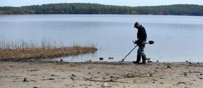 Drought reveals long-hidden secrets of Lake Massabesic