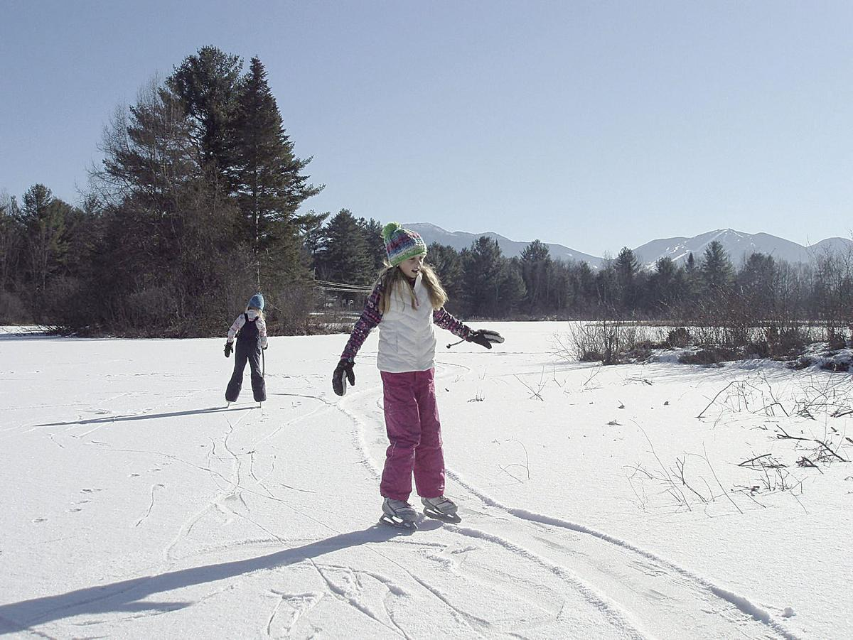 Winter Notes: Pond skating a quintessential winter tradition in NH