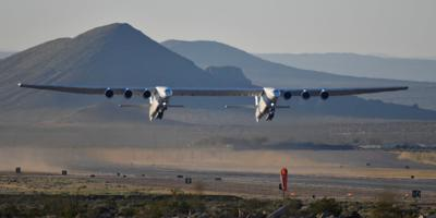 The world's largest airplane ever to fly