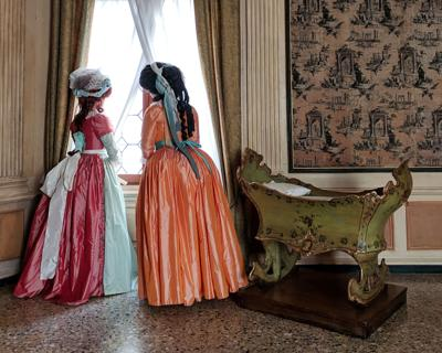 Costume enthusiasts find Venice's Carnival offers the perfect backdrop for period attire