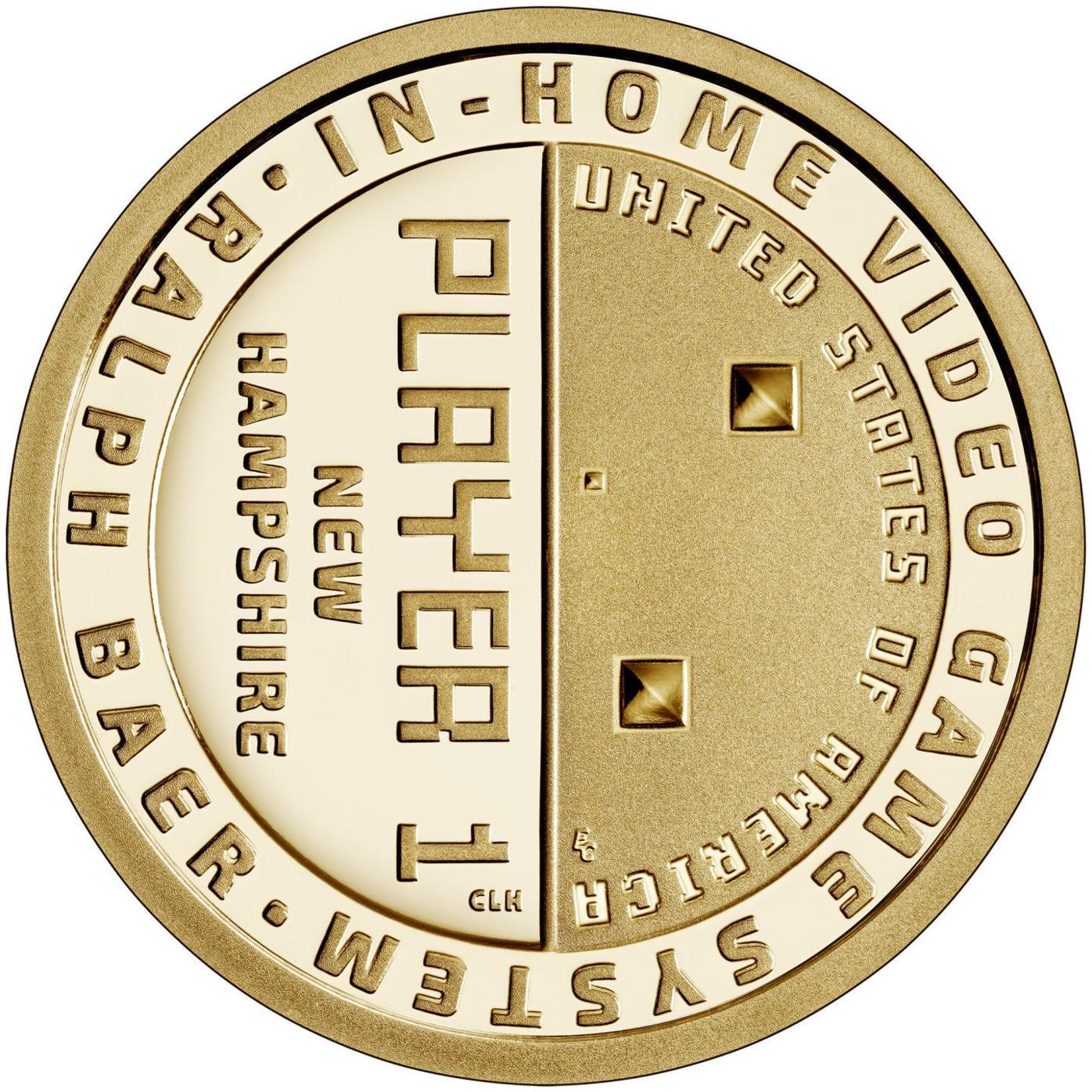 Ralph Baer coin