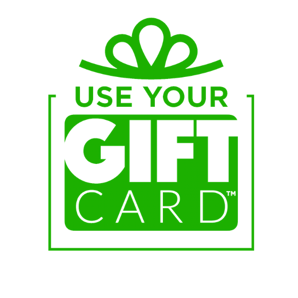 Use your gift card logo