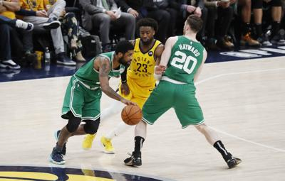 NBA: Playoffs-Boston Celtics at Indiana Pacers