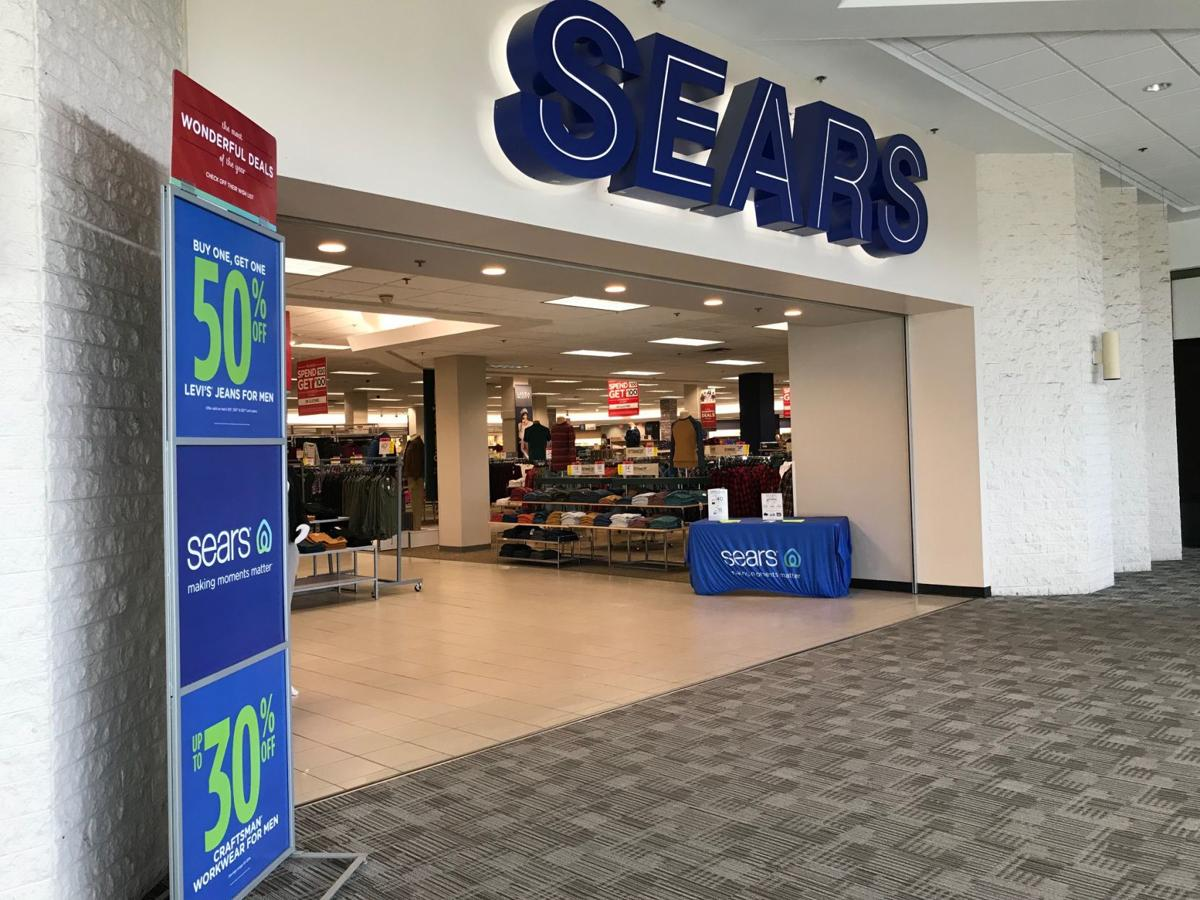 The inside entrance to the Sears in Nashua