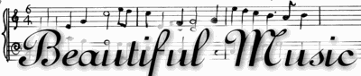 Tuesday Tales: 'Beautiful Music' serial Oct. 30 - Dec. 18