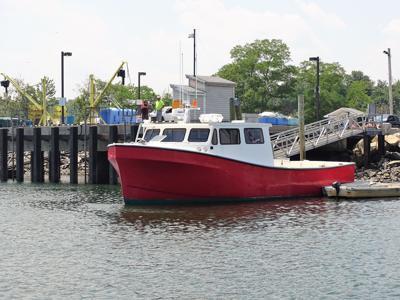 Rye Harbor fishing boat