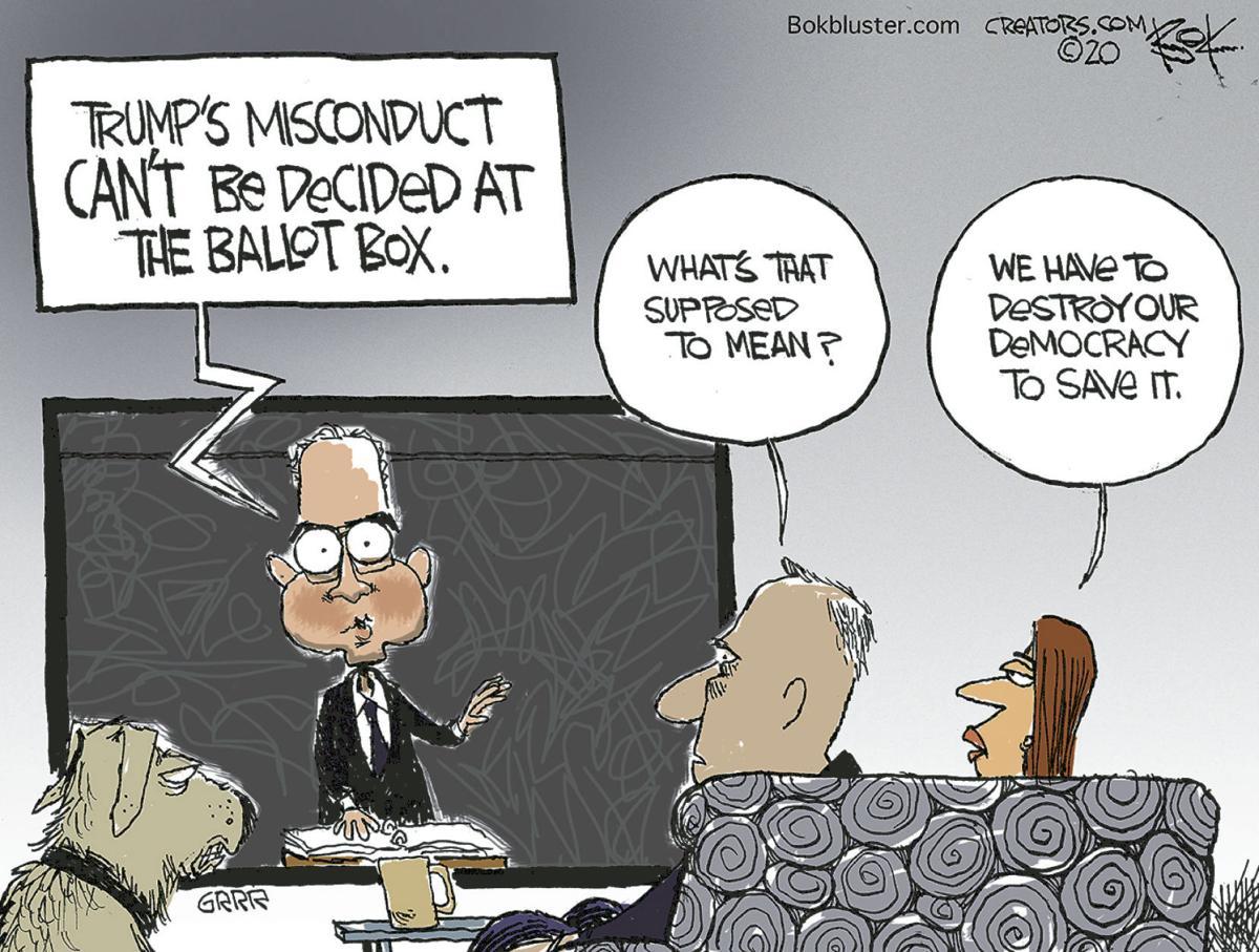 Editorial Cartoon: Jan. 29, 2020