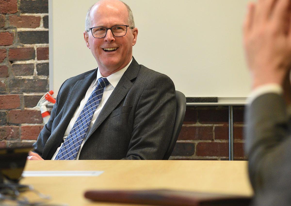 Dr. James Dean, UNH president