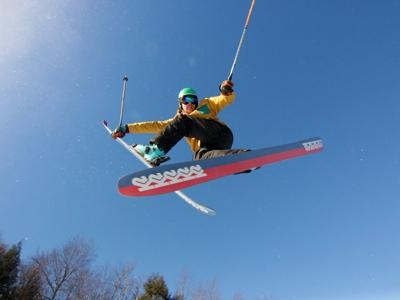 Slope-style contest soars into Pats Peak Saturday
