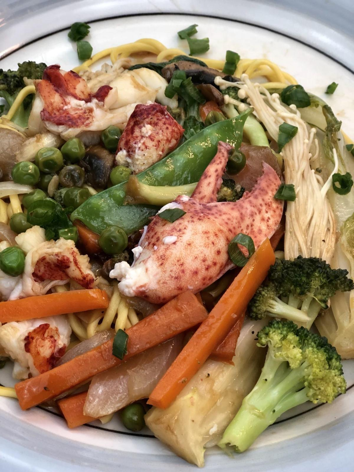 Lobster Stir-Fry