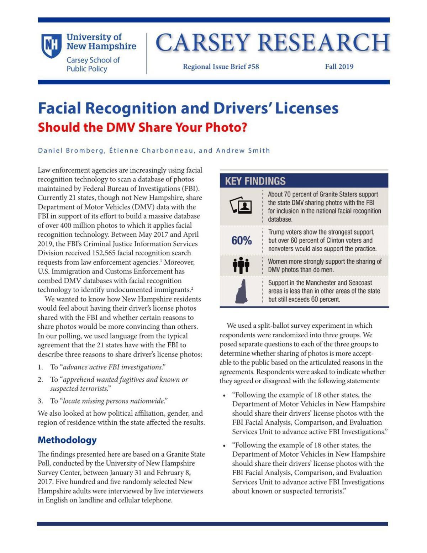 Facial Recognition Poll