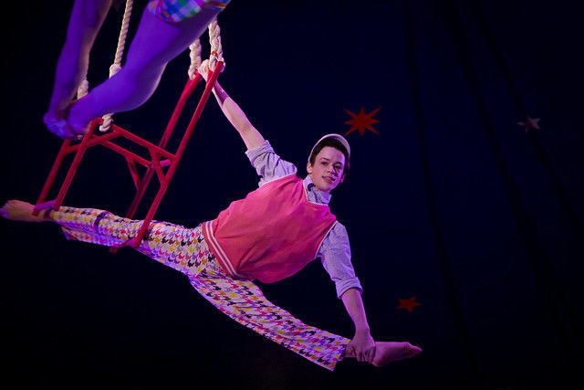 Circus Smirkus takes off