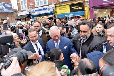 FILE PHOTO: Britain's Prince Charles visits TK Maxx