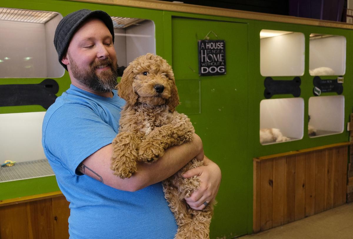 William Sturgeon, owner of Bill's Pet & Aquarium
