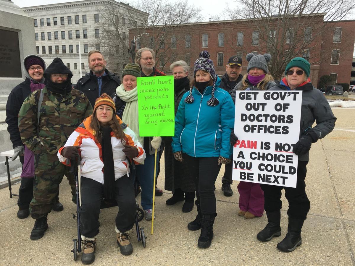 Pain patients implore lawmakers: Don't punish pain