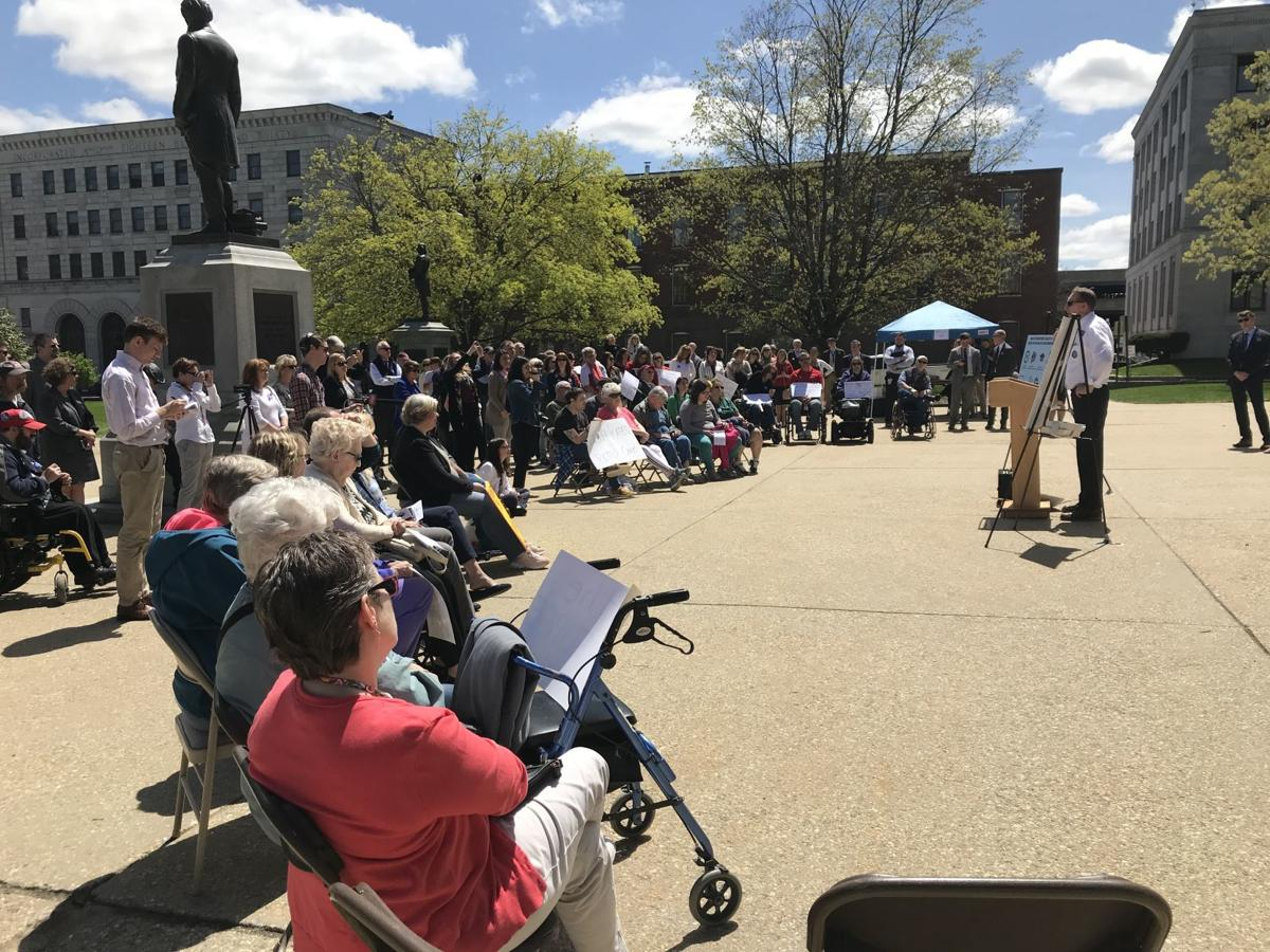 State House protest over Medicaid rates