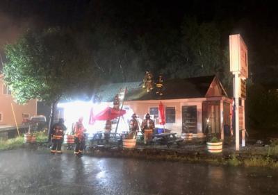 Laconia fire at Alicia Café