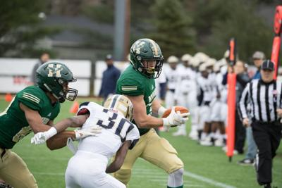 181125-spt-kyle gaudetHusson Football v Gallaudet 4646