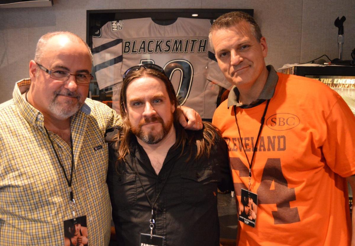 Radio crew pays tribute to Andy Blacksmith