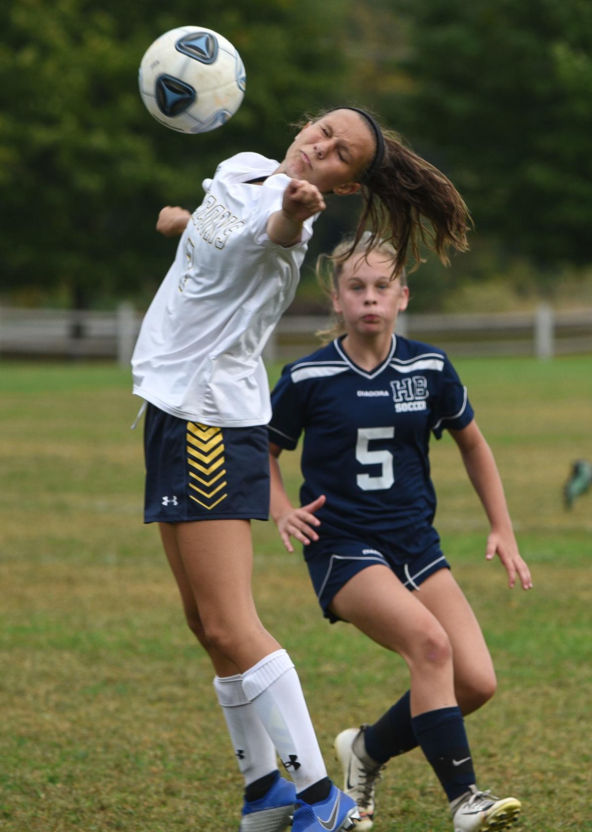 Bow-Hollis girls' soccer