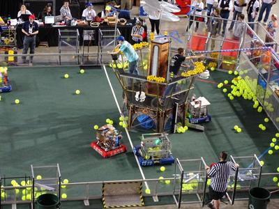 FIRST Robotics district competition kicks off at UNH