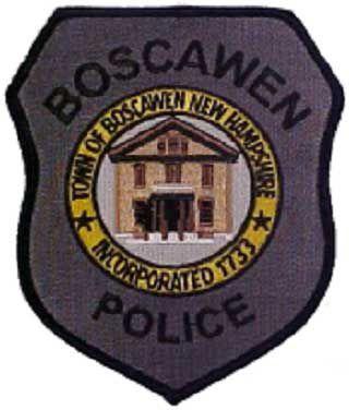 Motorcyclist clips bear in Boscawen, all's well