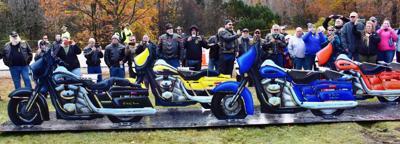 Memorial erected for 'Fallen Seven' killed in Randolph crash