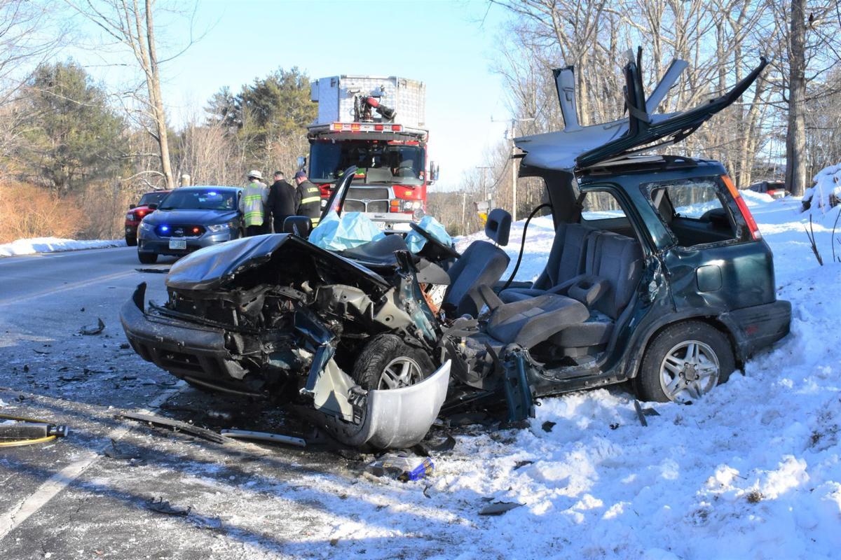 Belmont crash scene