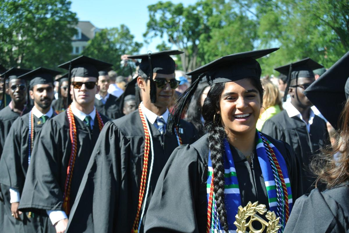 Dartmouth College graduation
