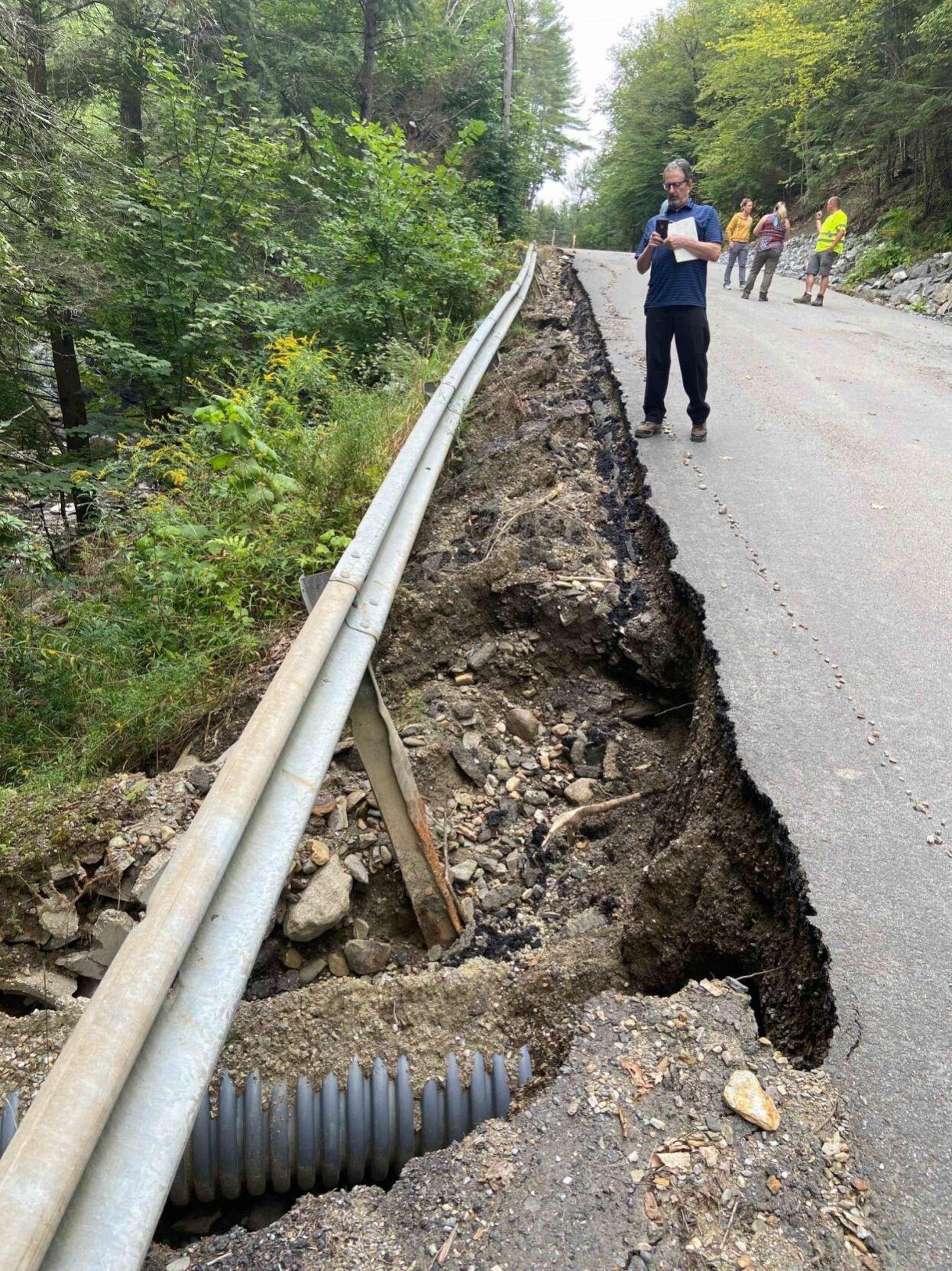 Alstead flood damage