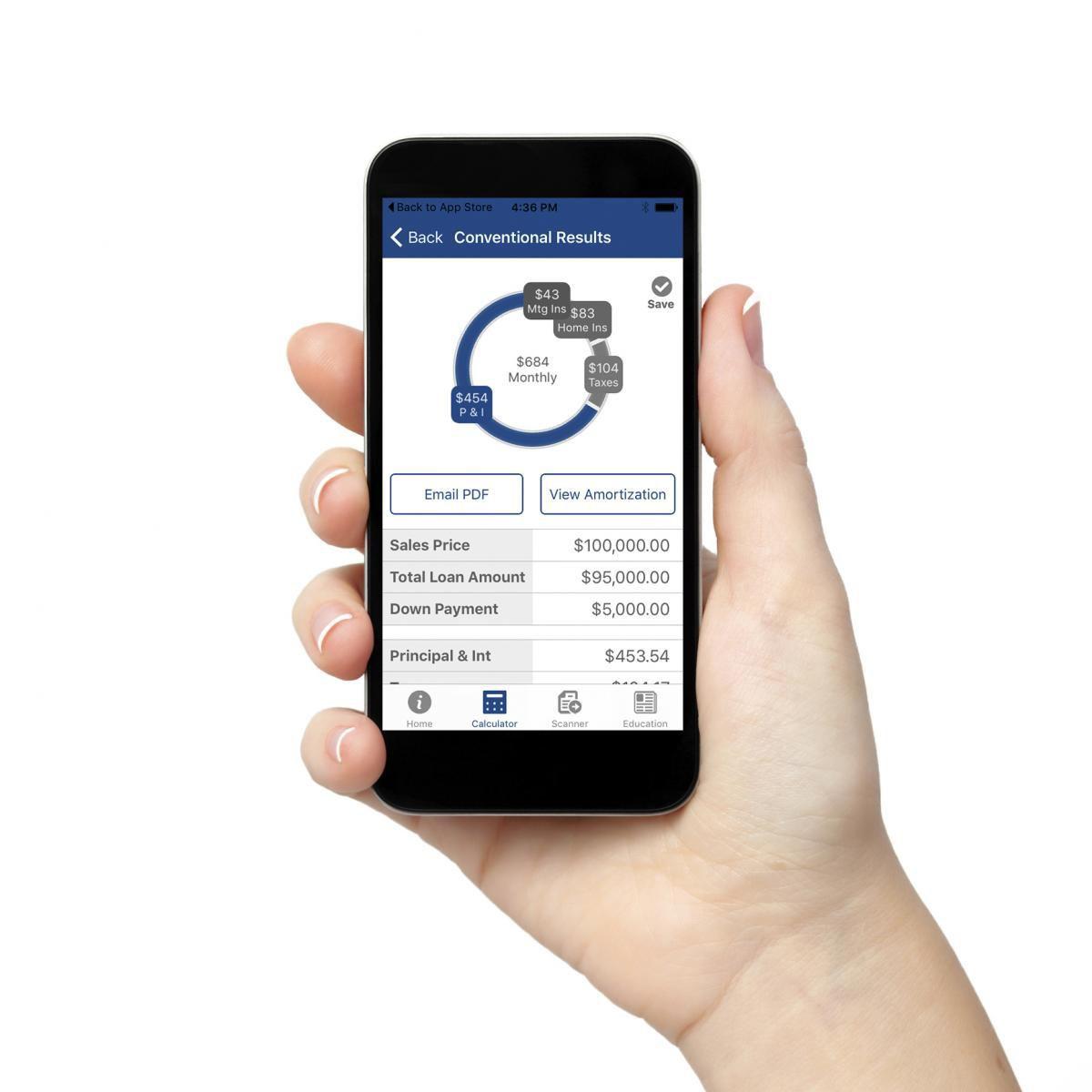 Smartphone mortgage tools