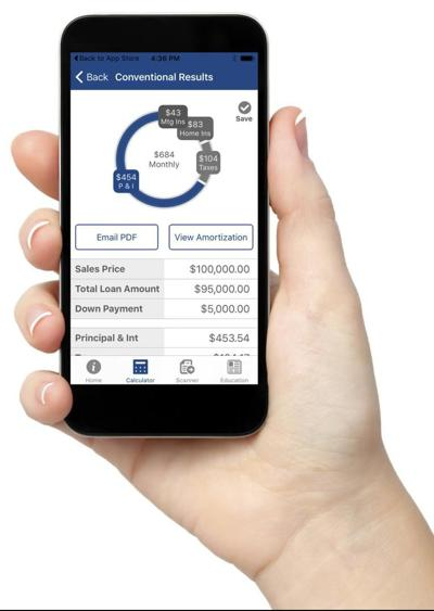 Smartphone mortgage tools